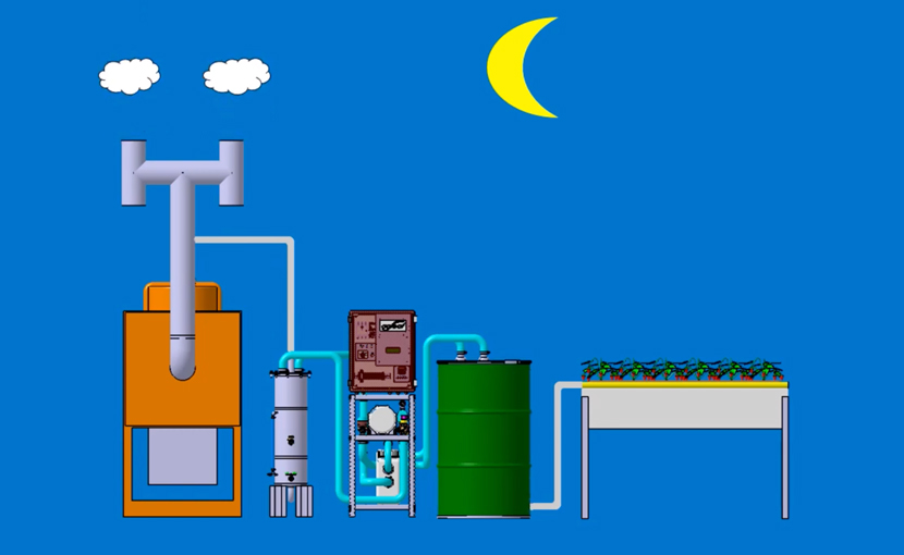 agleaf(アグリーフ)CO2施用機/光合成促進機_仕組み動画